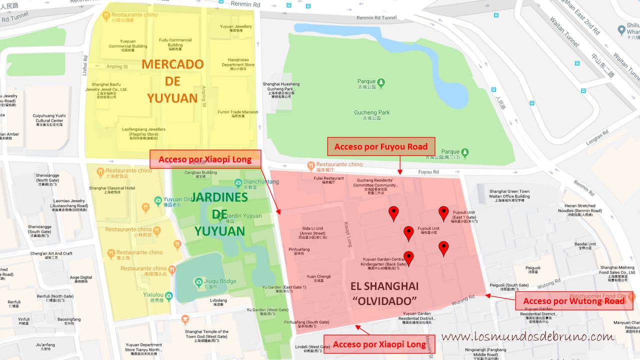 El Shanghai Olvidado